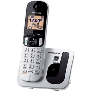 Panasonic KX TGC210S Expandable Digital Cordless Phone with 1 Handsets