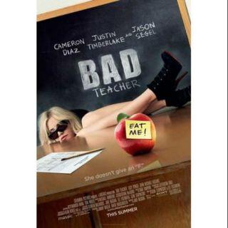 Bad Teacher Movie Poster (11 x 17)