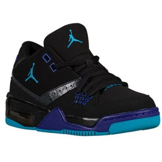 Jordan Flight 23   Boys Grade School   Basketball   Shoes   Black/Blue Lagoon/Bright Concord/Dark Grey