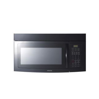 Samsung 1.7 cu ft Over The Range Microwave with Sensor Cooking Controls (Black) (Common: 30 in; Actual: 29.9 in)