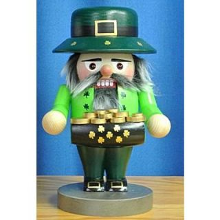 PinnaclePeak Steinbach Signed Troll Irish St. Patrick German Wood Christmas Nutcracker