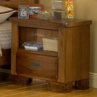 Greyson Living Hardy Brown Finish Night Stand   Shopping
