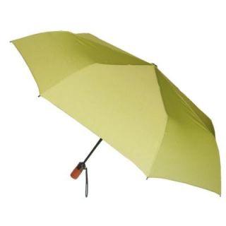 London Fog 44 in. Arc Canopy 3 Sectional Telescopic Mini Auto Open Auto Close Umbrella in Leaf 93104