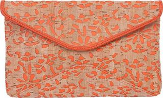 Womens BUCO Handbags Cork Clutch MS 13