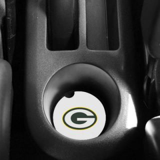 Green Bay Packers 2 Pack Ceramic Absorbent Car Coasters