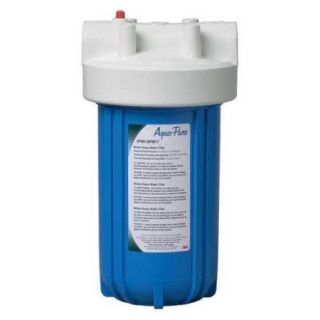 AQUA PURE AP801 Water Filter Housing, 1 in. NPT, Cartridge