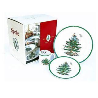 Spode Christmas Tree 12 piece Dinnerware Set  ™ Shopping