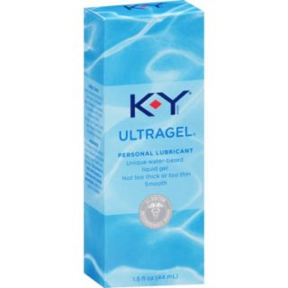 K Y UltraGel Personal Water Based Lubricant, 1.5 Ounce