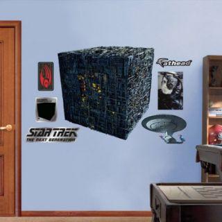 Fathead Star Trek Borg Cube Wall Decal