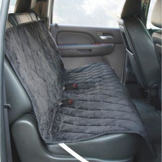Yes Pets Quilt Suede Water Proof Bench Style Car Seat Cover
