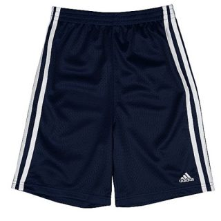 adidas Mesh Shorts   Boys Preschool   Casual   Clothing   Dark Indigo
