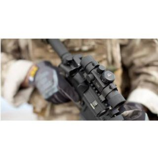 CenterPoint Scope 1x25mm Multi Reticle Sight with Four Red/Green Illuminated Reticle Options