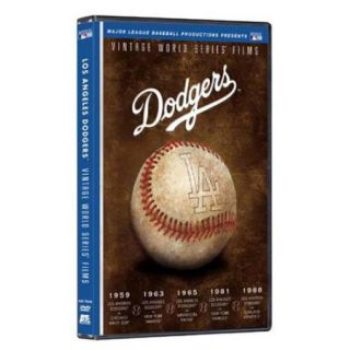 Team Marketing WW TM3512 Los Angeles Dodgers Vintage World Series Films DVD Set