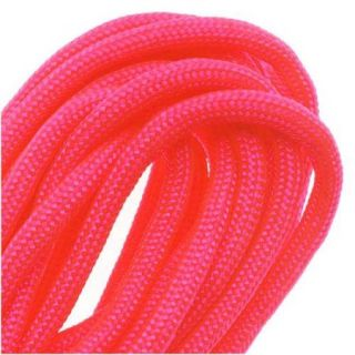 Paracord 550 / Nylon Parachute Cord 4mm   Neon Pink (16 Feet/4.8 Meters)