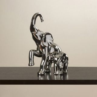 FashionCraft Lucky Elephant 4 Piece Good Luck Figurine Set