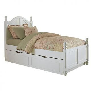 Hillsdale Furniture Walnut Street Payton Arch Twin Bed with Trundle and Rails   8106293