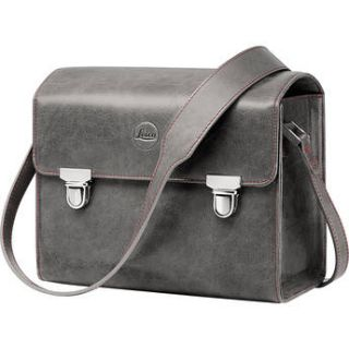 Leica Leather System Case (Small, Stone Grey) 18761