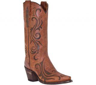 Womens Dan Post Boots 12 Goat/Inlay DP3256