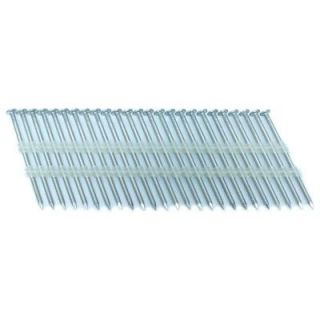FASCO 2.5 in. x 0.113 in. 20 Degree Ring Stainless Full Round Head Plastic Strip Nails 4000 per Box FP2121320RSSE4M