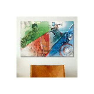 Minimalistic Avengers Iron man by Marvel Comics Graphic Art on Canvas