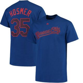 Eric Hosmer Kansas City Royals Majestic Stars & Stripes Name and Number T Shirt   Royal