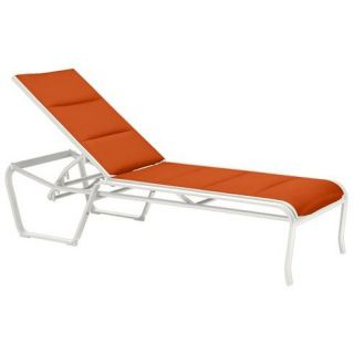 Tropitone 159933PS Spinnaker Padded Sling Armless Chaise Lounge