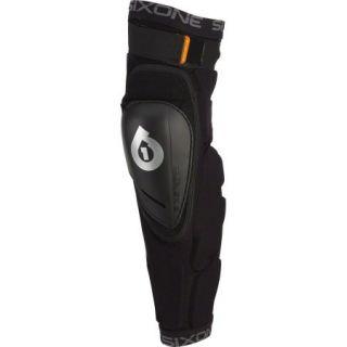 SixSixOne Rage Hard Knee/Shin Pad: Black LG
