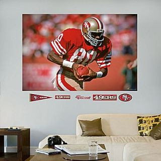 Fathead NFL San Francisco 49ers Jerry Rice Wall Mural