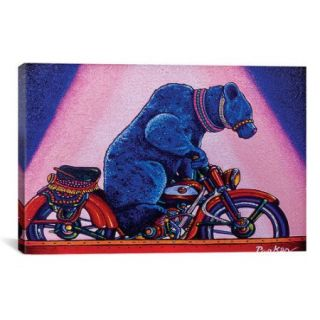 iCanvas 'At the Circus' by David Parker Graphic Art on Canvas