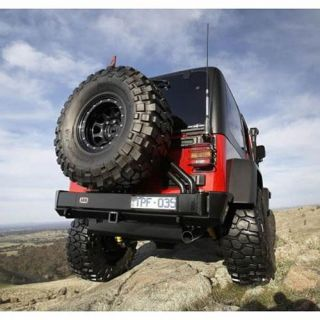 ARB 4x4 Accessories   ARB 4x4 Accessories Spare Tire Carrier 5750012   Fits 1997 to 2006 TJ Wrangler, Rubicon and Unlimited
