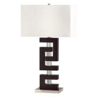 Troy 28 H Table Lamp with Rectangular Shade