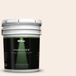 BEHR MARQUEE 5 gal. #760A 1 Creme Angels Semi Gloss Enamel Exterior Paint 545005