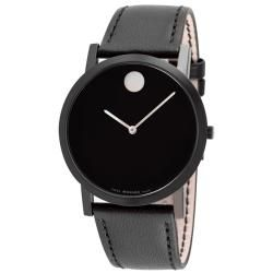 Movado Mens Museum Classic Black PVD Coated Watch