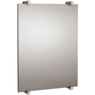 USE Berrol Rectangular Mirror Satin Nickel DISCONTINUED 1566.13