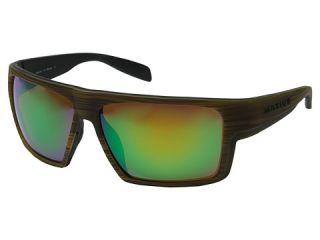 Native Eyewear Eldo Wood/Black/Black/Green Reflex