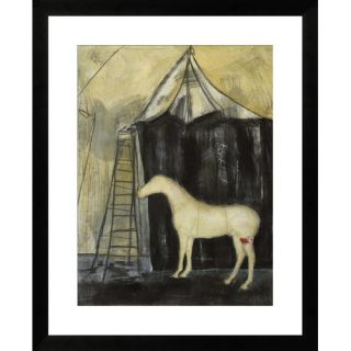 Pony Show I by T. Graham Framed Paper Print Art by Gallery Direct