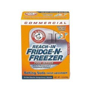 Fridge N Freezer Pack Baking Soda, Unscented, Powder, 16 oz., 12/Carton CDC3320084011CT
