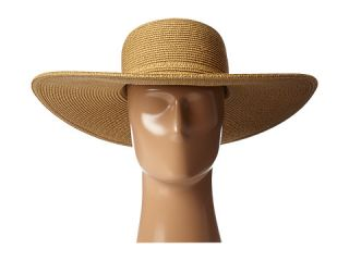 Scala Big Brim Paperbraid Sun Hat Natural Brown
