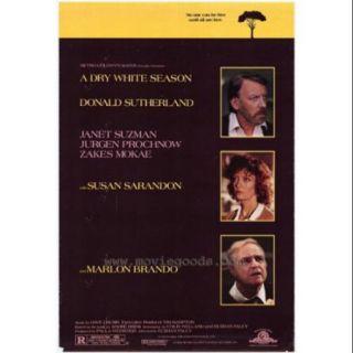 A Dry White Season Movie Poster (11 x 17)