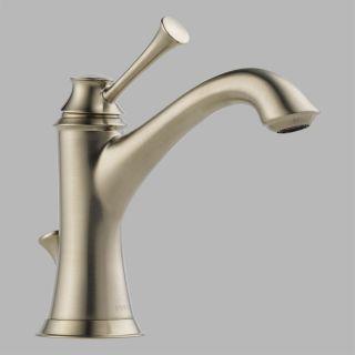 Brizo 65005LF BN Baliza Single Handle Bathroom Faucet in Brushed Nickel