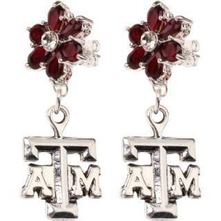 Texas A&M Aggies Womens Little Flower Post Dangle Charm
