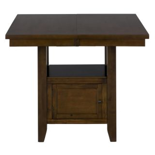 Jofran 337 54 Double Header Storage Table in Taylor Brown Cherry