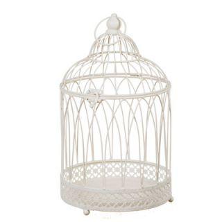 Oddity Inc. Wire Hanging Decorative Bird Cage