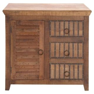 The Lovely Wood 3 Drawer Chest