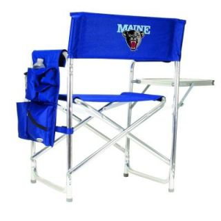 Picnic Time University of Maine Navy Sports Chair with Digital Logo 809 00 138 804