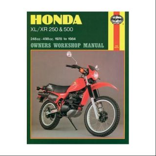 Haynes Repair/Service Manual 567 Fits 79 80 Honda XR250