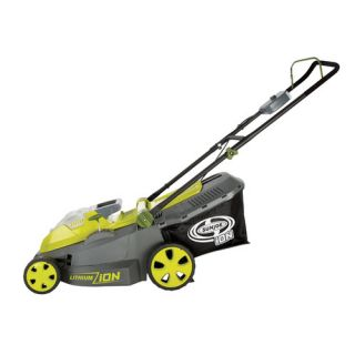 Sun Joe iON 40 Volt Cordless Lawn Mower with Brushless Motor