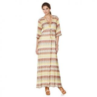 "Nikki by NIkki Poulos ""Erin"" Crochet Maxi Dress   8010722"