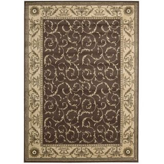 Nourison Somerset Scrollwork Machine Woven Runner Rug