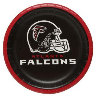 Atlanta Falcons 8 Pack Lunch Plate Set